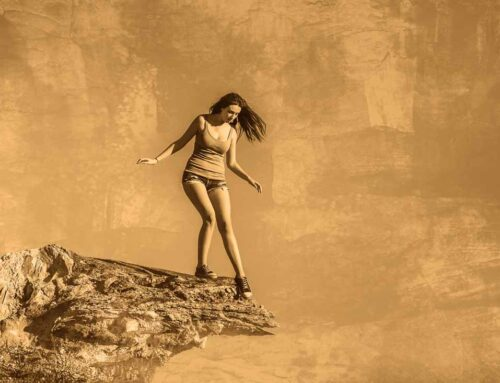 FEAR. Stepping off the edge…